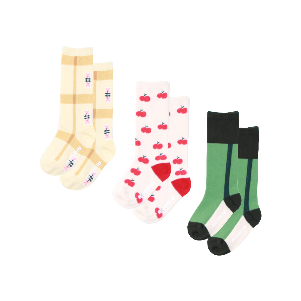 20 S/S Knee Socks Set (3pack) (당일발송)