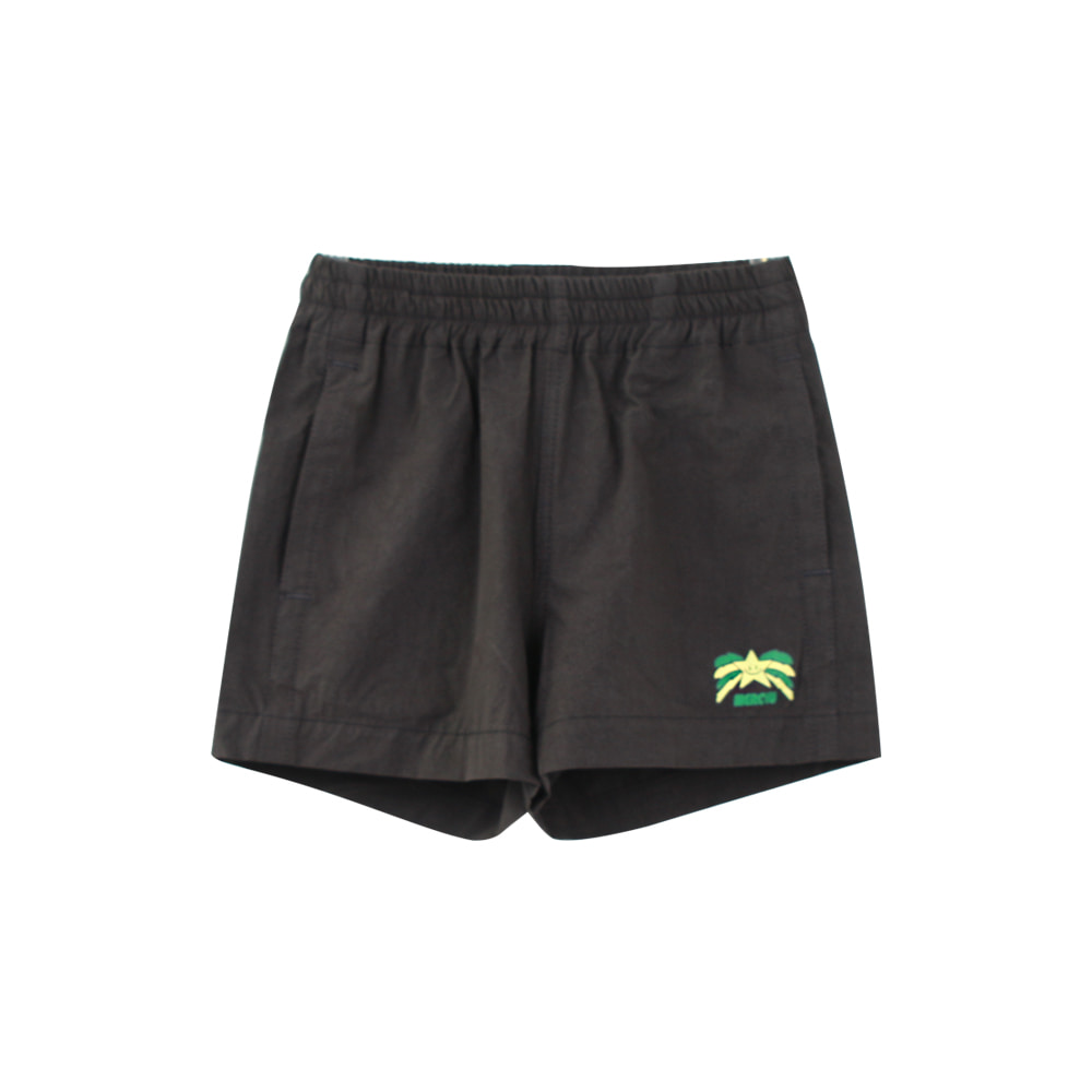 Star short pants - black (2차 프리오더)