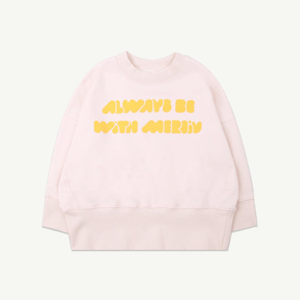 Always be with you sweatshirt - ivory (당일발송)
