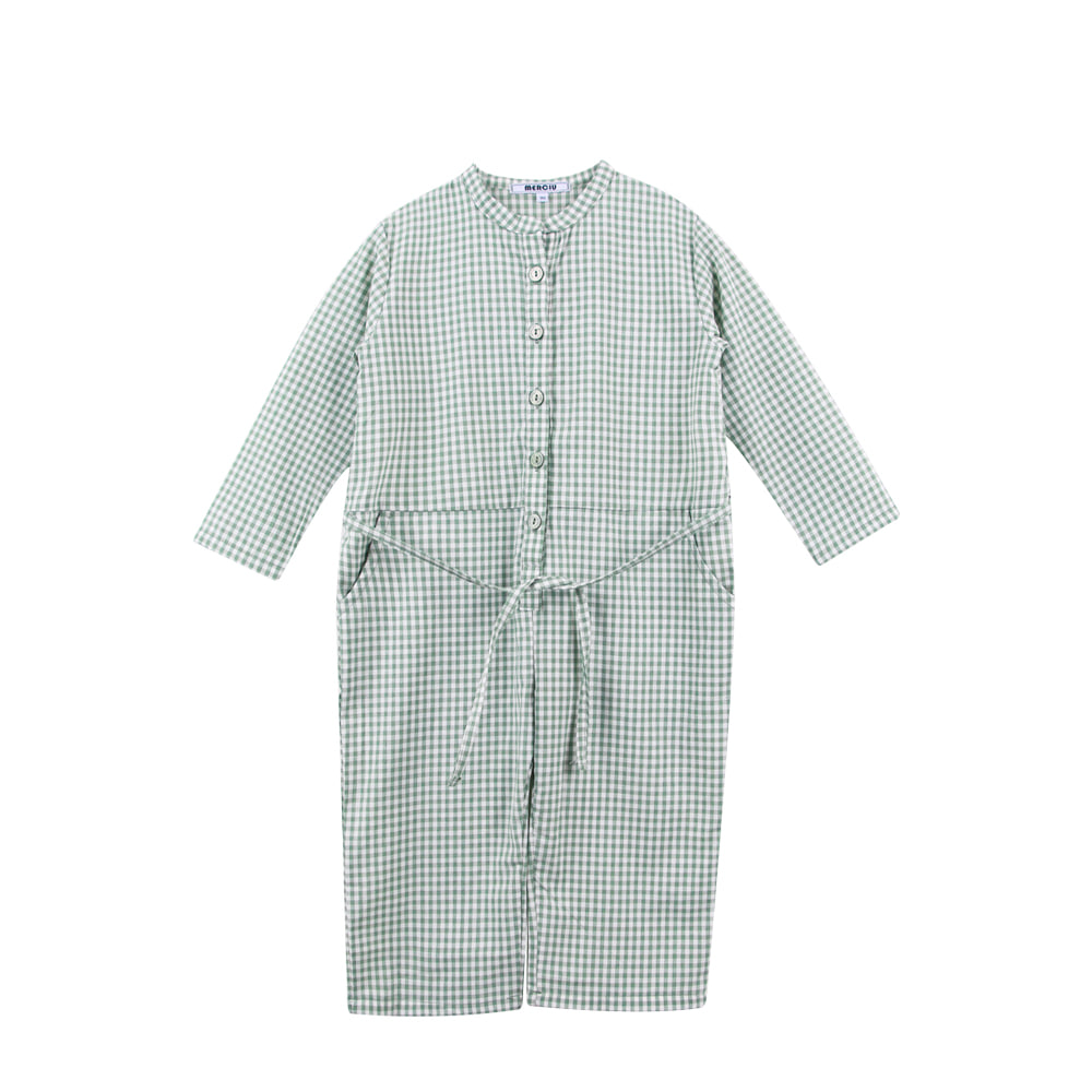 19S/S Check Overalls (당일발송)