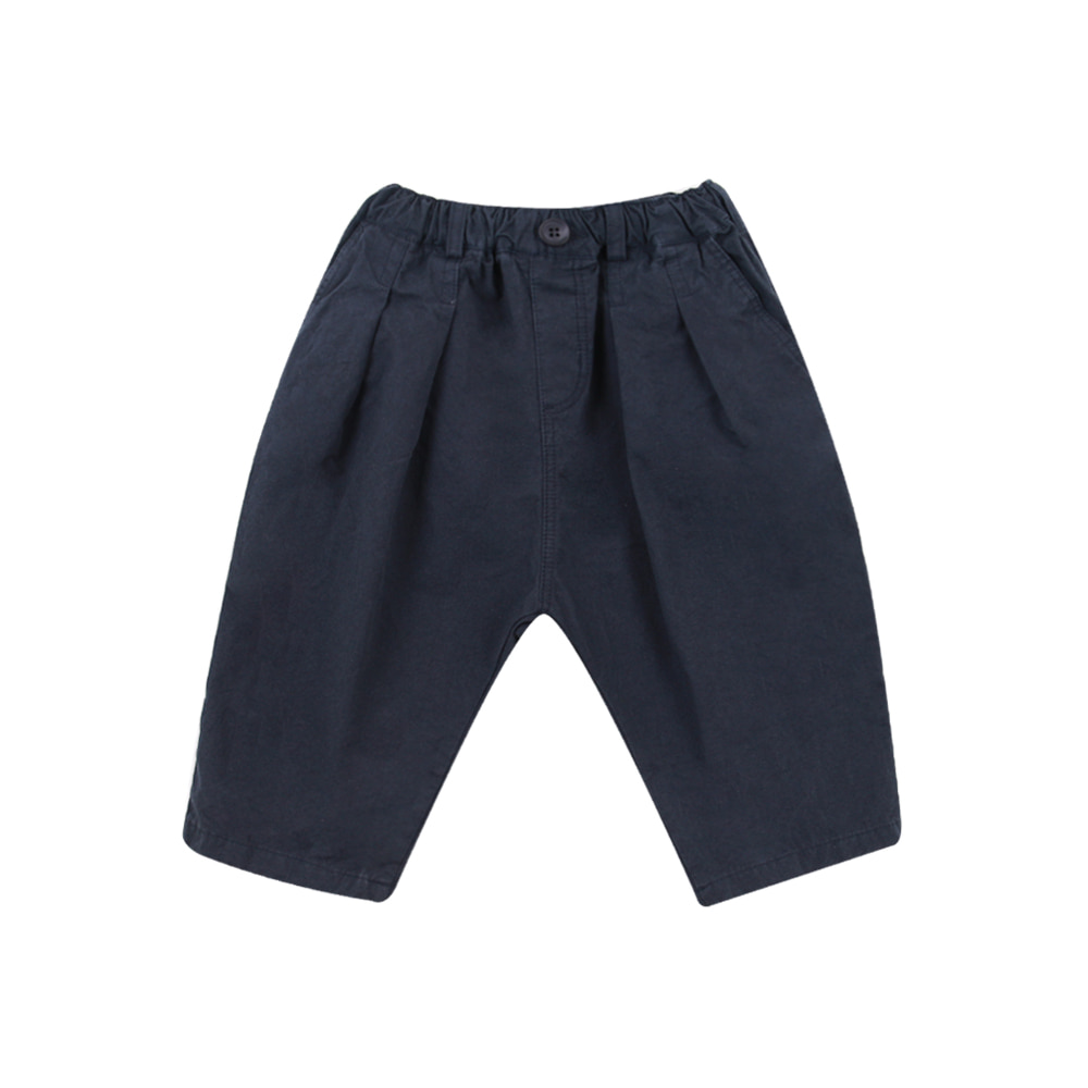 19F/W Cotton Baggy Pants - navy(2차입고, 당일발송)