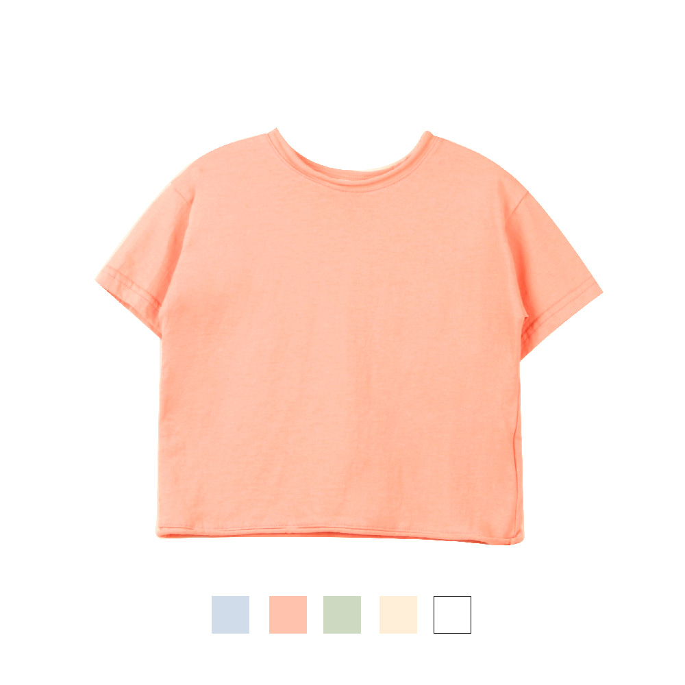 20 S/S Basic Short Sleeve T-shirt (4차 입고, 당일발송)