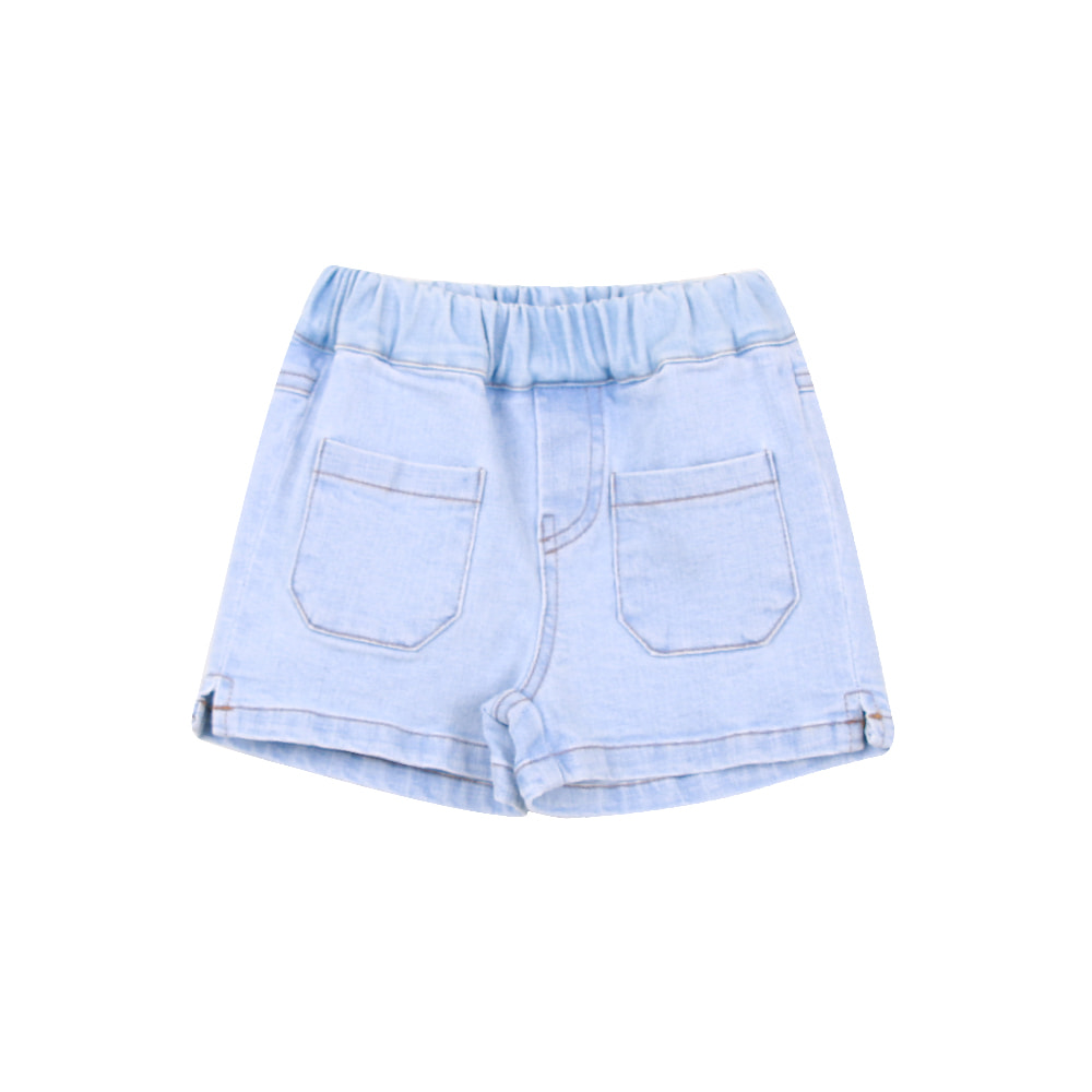 20 S/S Slit Short Pants - denim (4차 입고, 당일발송)