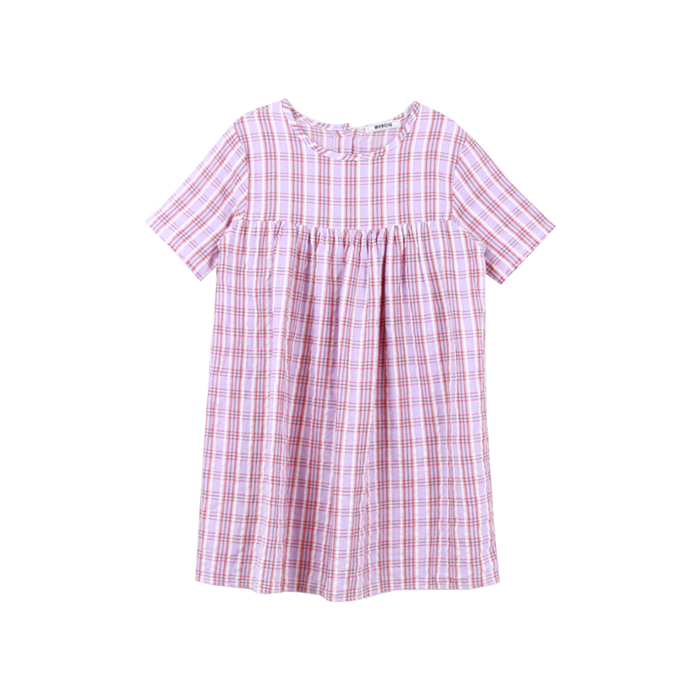 20 Summer check one-piece - Pink (2차 입고, 당일발송)