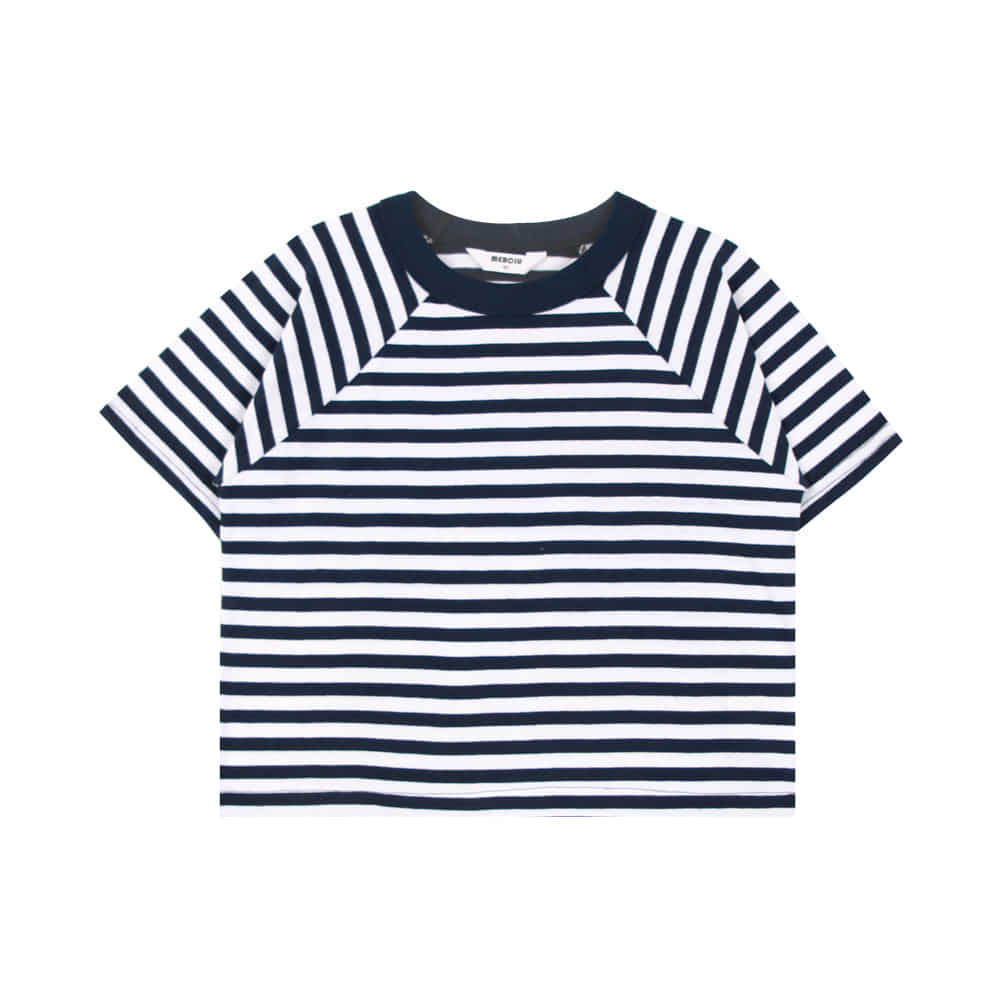 20 summer stripe t - shirt - navy (2차 입고, 당일발송)