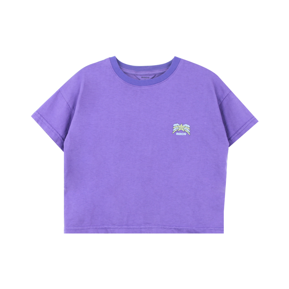 Star T-shirt - purple (2차 프리오더)