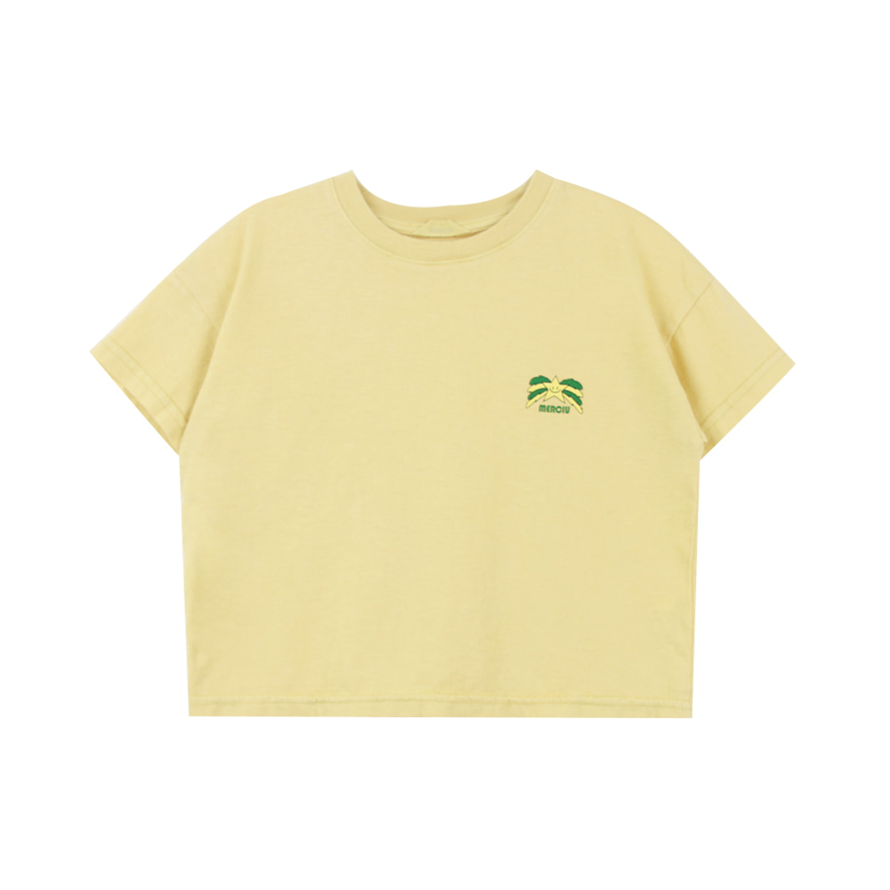 Star T-shirt - yellow (2차 프리오더)