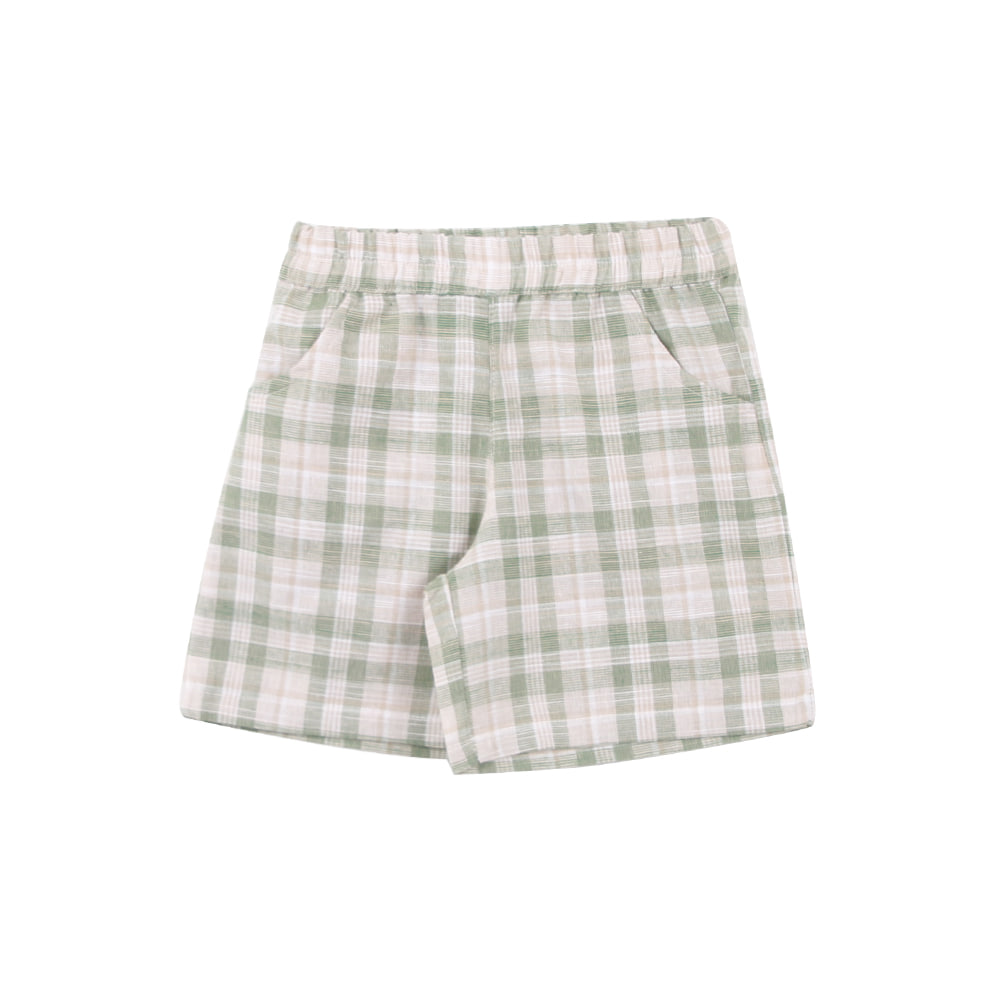 20 summer check pants - green (3차 입고, 당일발송)