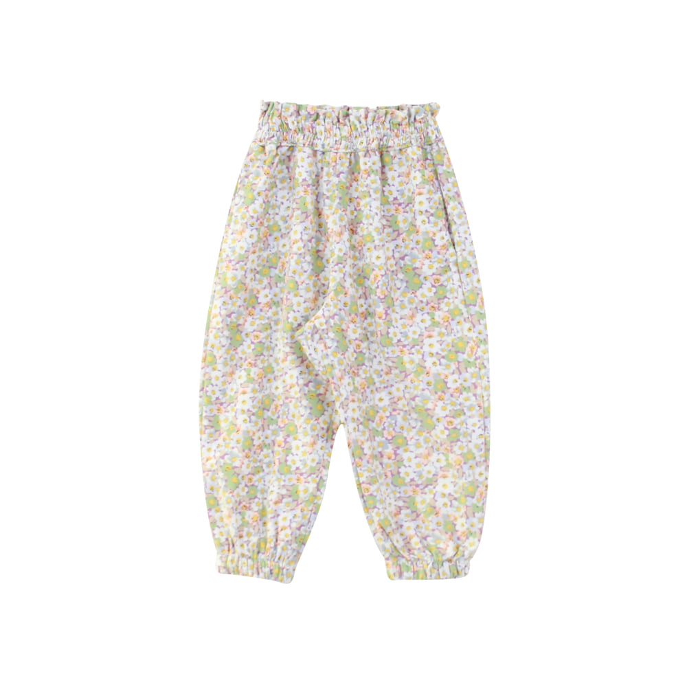 Flower frill jogger pants (3차 입고, 당일발송)