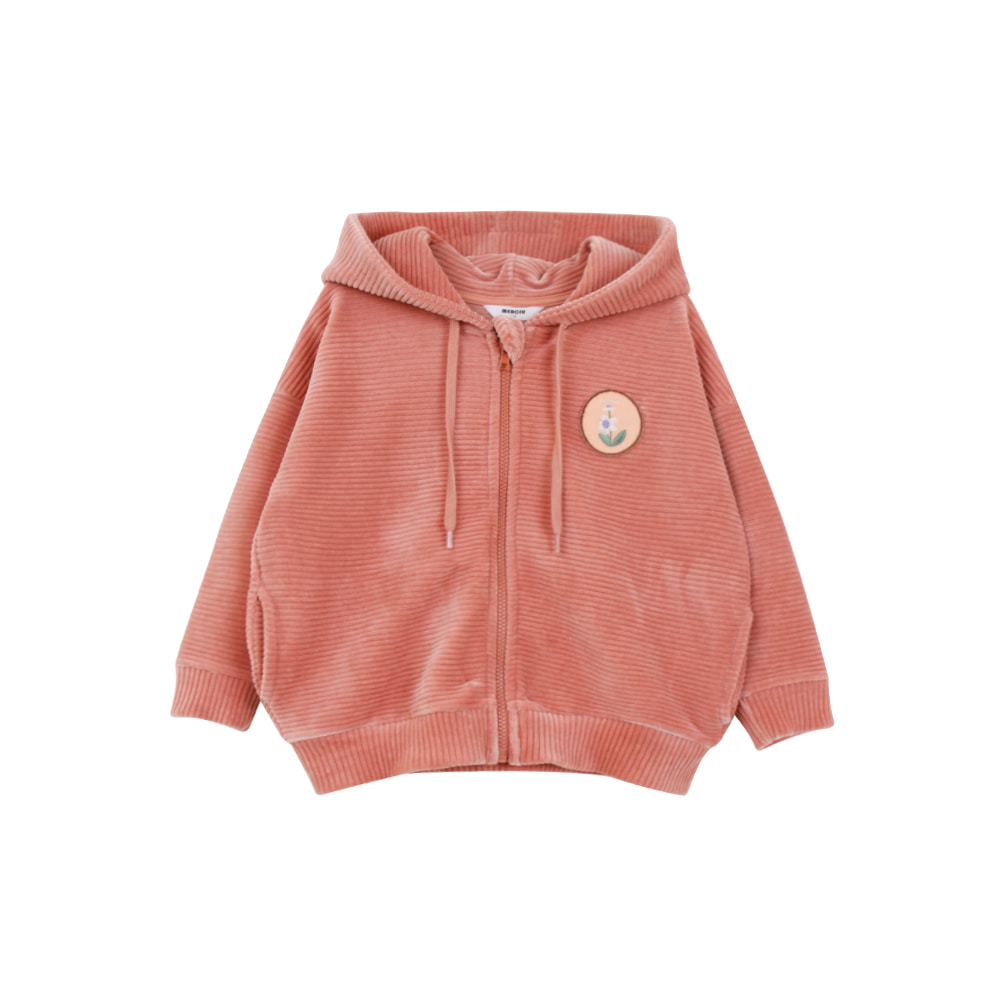 20 F/W Corduroy zip up- peach (3차 입고, 당일발송)