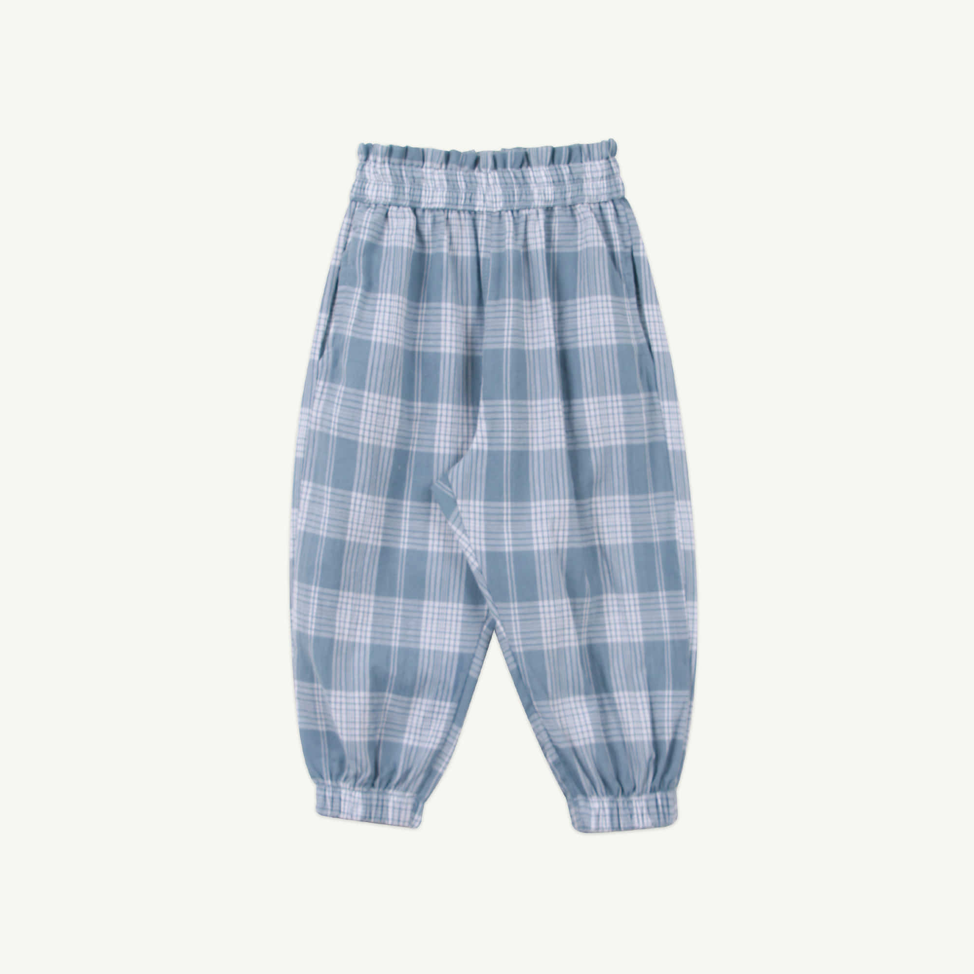 21 S/S Frill check jogger(6차 입고, 당일 발송)