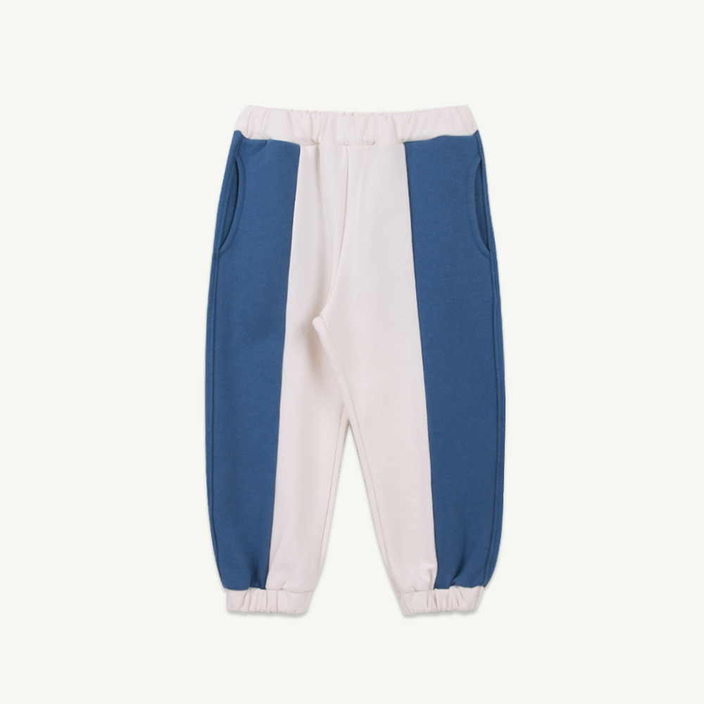 21 S/S Coloring jogger pants - blue (2차 입고, 당일발송)