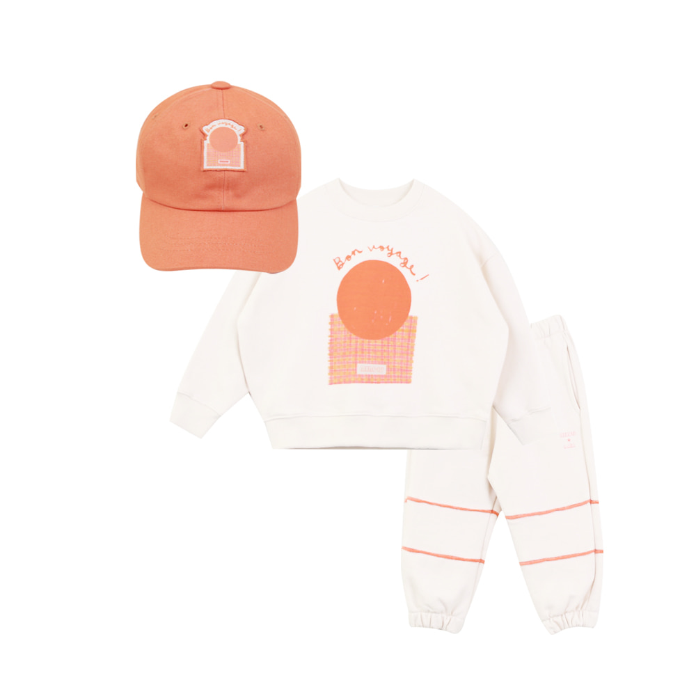 MERCIU X SAKI Kids cap set