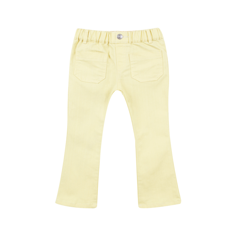 19S/S Flare Pants - Yellow(90-100가능,당일발송)