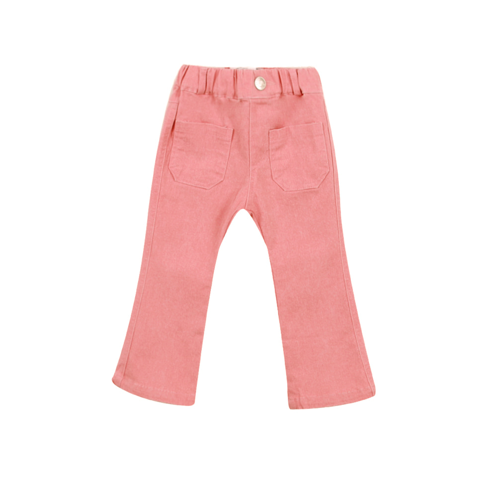 Pink flare jeans (2차입고, 당일발송)
