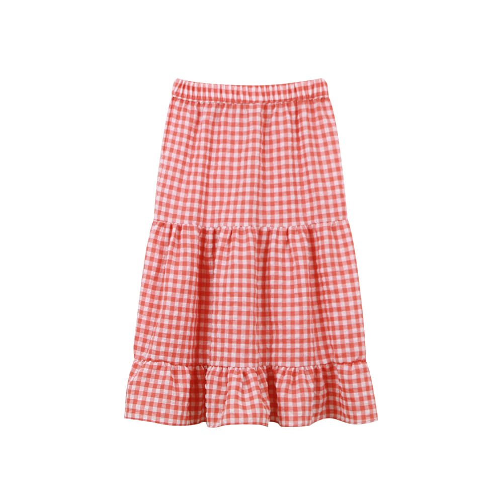 20 S/S Check skirt (3차 입고, 당일발송)