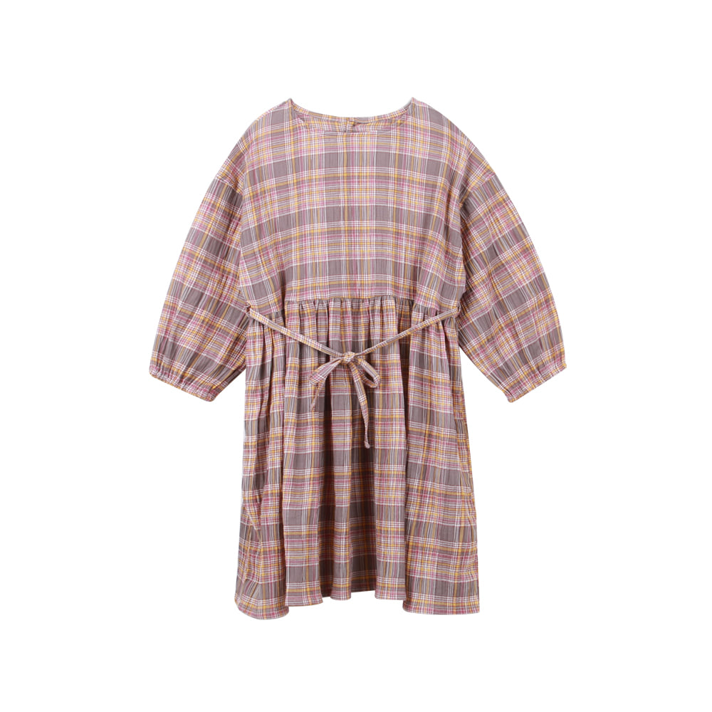 20 S/S Check onepiece (2차 입고, 당일발송)