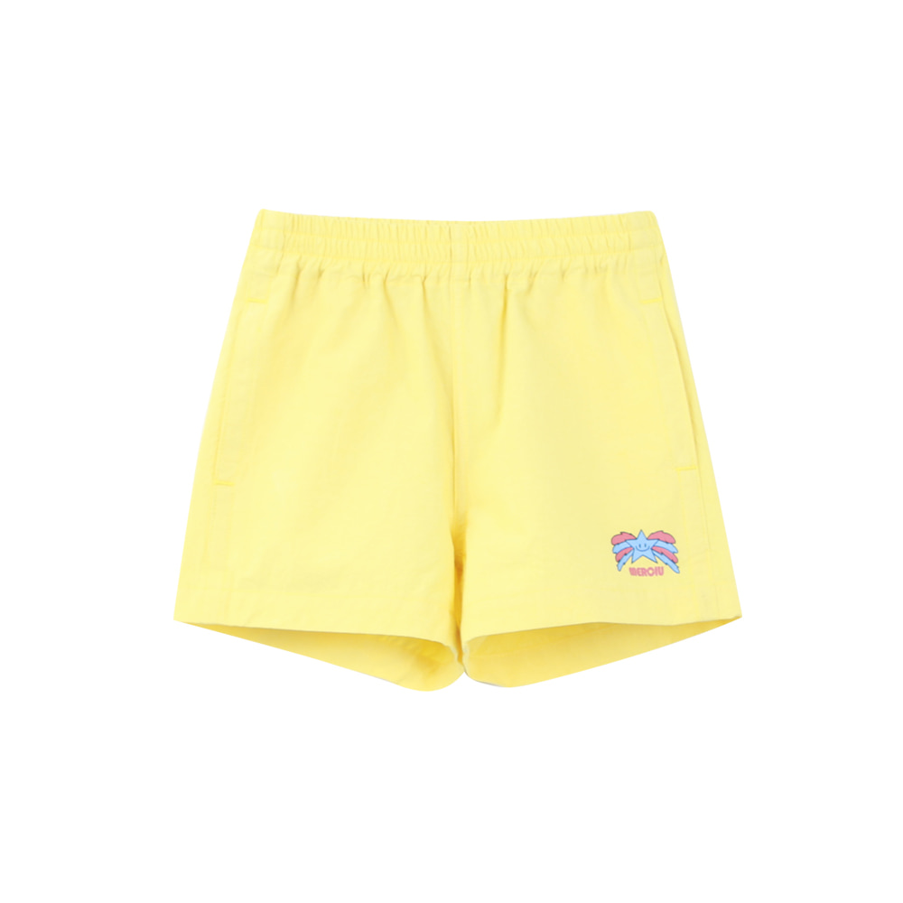 Star short pants - yellow (3차 입고, 당일발송)