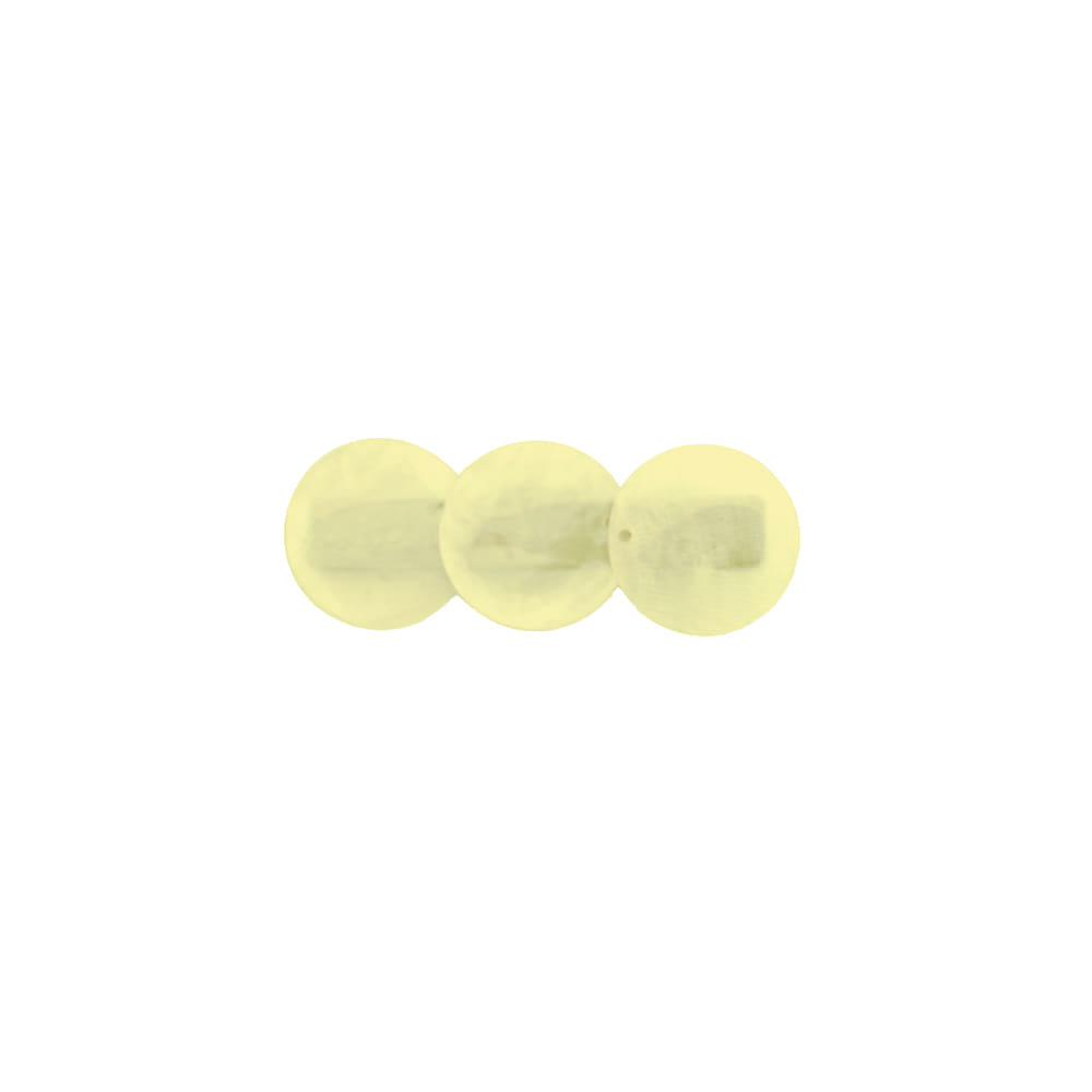 circle pin - yellow
