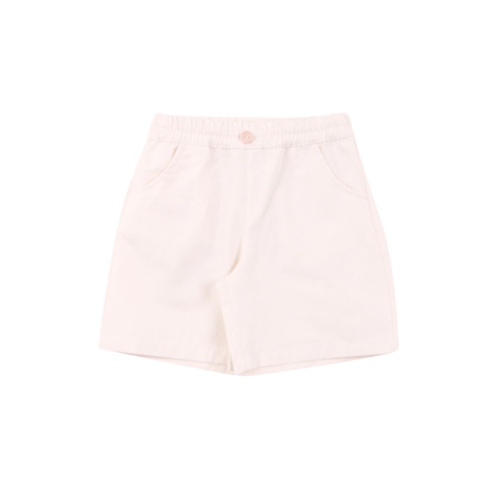 Button pants - ivory (3차 입고, 당일발송)