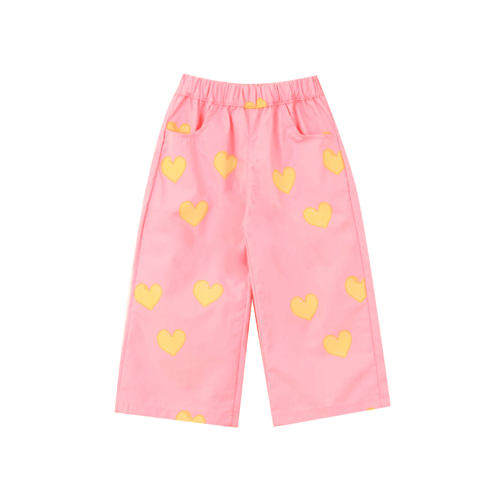 Summer heart pants