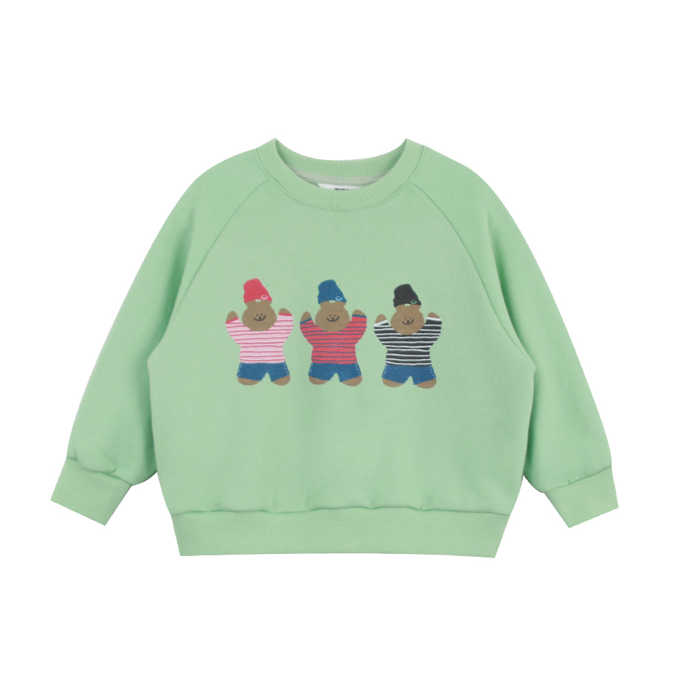 Triple bear sweatshirt (4차 프리오더)