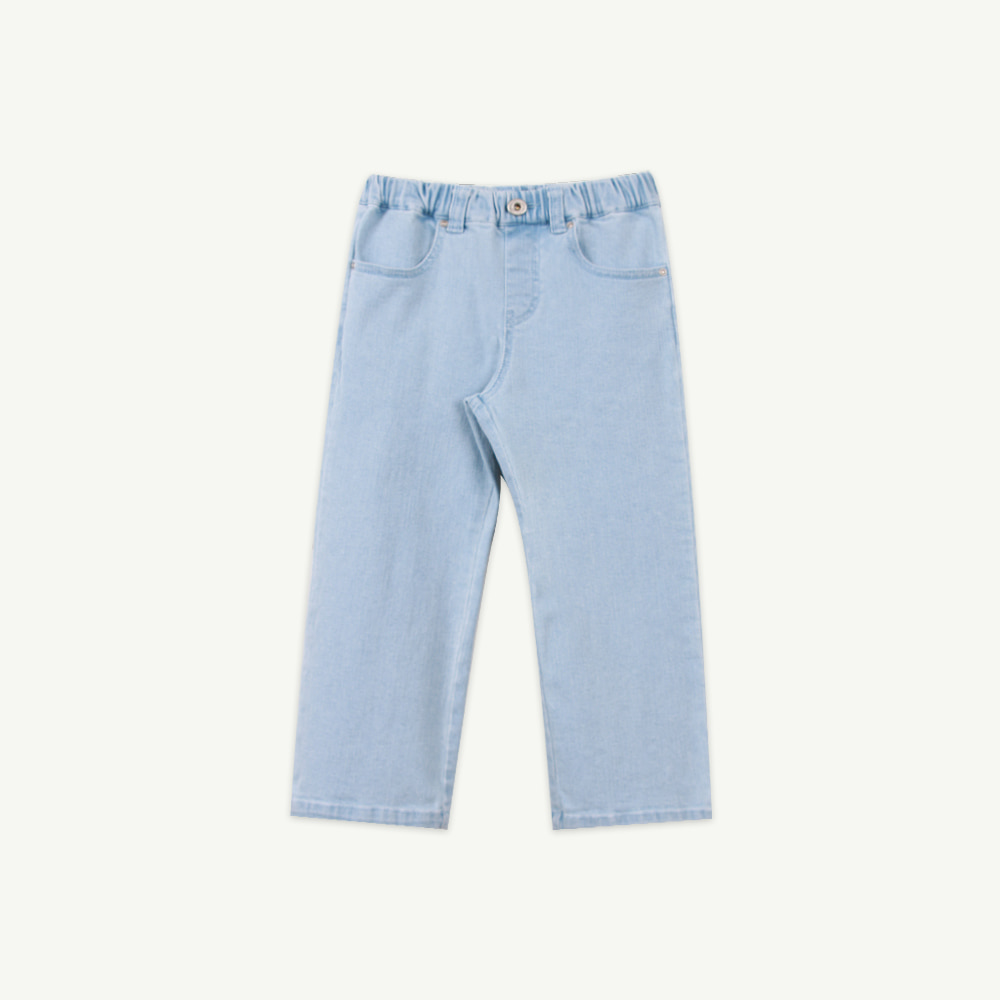 21 S/S slim denim pants - Light blue (5차 입고, 당일 발송)